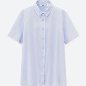 Silk button down shirt